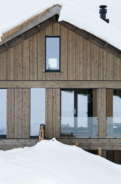 Ingermariegrini Levehytter Eksterior Hafjell 63B9567