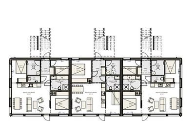 Plantegning for 1. etasje